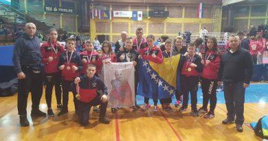 """Takmičari KBS """"ZINO"""" Bihać osvojili su 15 medalja"""