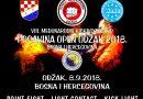 """8. Međunarodni kickboxing KUP """"Posavina Open Odžak 2018."""""""