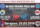 "Kickbox turnir ""WAKO GRAND PRIX BIH"" 2019. – Ilidža"