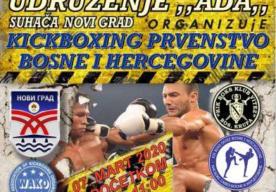 Završeno prvi dio državnog prvenstva u kik boksu – Novi Grad 2020.