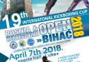 """19. Internacionalni kickboxing kup """"Bosna i Hercegovina Open"""" Bihać 2018"""