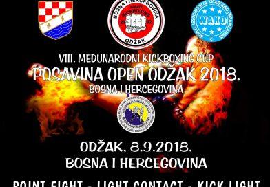 """8. Međunarodni kickboxing KUP """"Posavina Open Odžak 2017."""""""