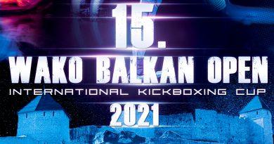 """15. Međunarodni KUP """"WAKO Balkan Open 2021."""" – Tešanj"""